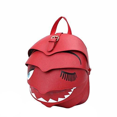 Creativo Donna Zaino Multi-color Red