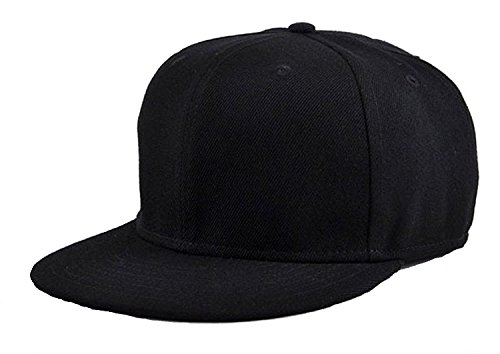 Zacharias Hip Hop Cap Snapback Black  available at amazon for Rs.215