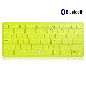 Callmate Bluetooth Keyboard with B.T USB Dongle - Green