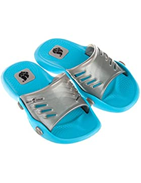 Mad Wave Kid's M0375 01 17 Pantofole 7 W, colore: azzurro/argento, taglia 32/33