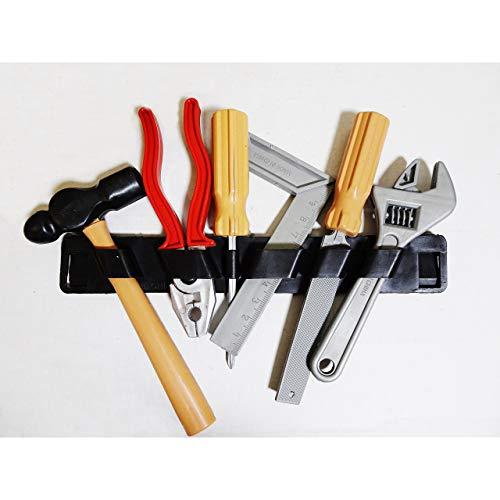 Lg-Imports 6tlg Kinderwerkzeug Set Werkzeug Halter Kinder Spielzeug Zange Hammer Tools Plastik