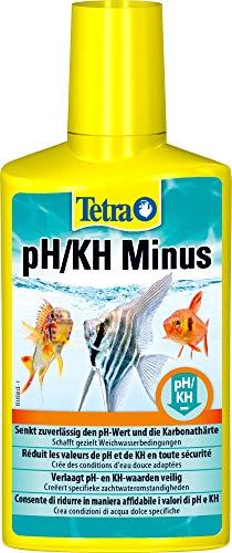 Tetra pH/KH Minus (Wasseraufbereiter zur kontrollierten Senkung der pH- und KH-Werte), 250 ml Flasche -