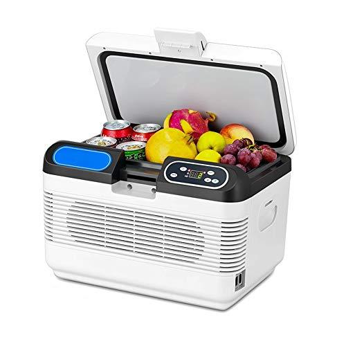 FINLR Kühlbox Mini Kühlschrank Kühlbox Tragbarer Kompressor Kühlschrank Mit Gefrierfach 12 V DC / 220 V AC tragbar (Dc-kompressor-kühlschrank)
