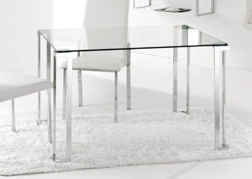 Adec - Mesa de comedor rectangular dalí, 120 x 80 x 75