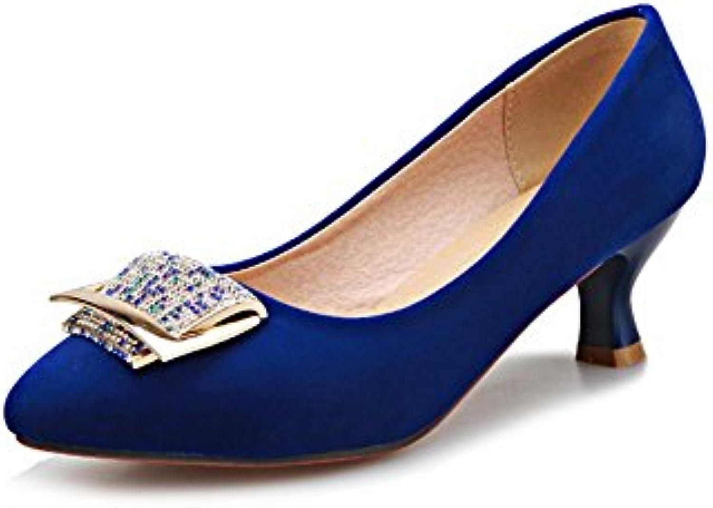 AdeeSu Adee Scarpe Col Tacco Donna Donna Donna Blu (blu), 42 EU, SDC01031 | Eccellente  Qualità  | Scolaro/Signora Scarpa  3ae5a8
