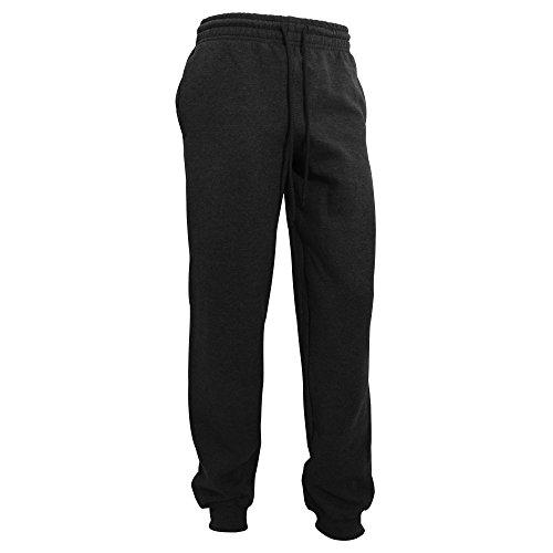 Gildan Herren Heavy Blend Jogging Hose/Sporthose mit Bündchen (M) (Schwarz)
