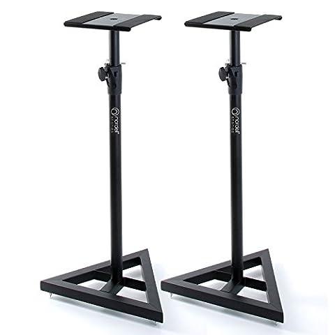 Adam Hall SKDB039 V2 Adjustable Speaker Stands (Pair)