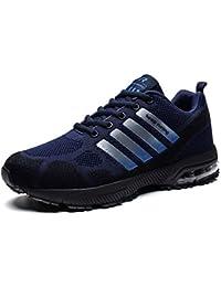 premium selection 2a161 4d2a8 Homme Femme Chaussures de Sport Respirantes Plein Air Sneaker Running Shoes  pour Trail Entraînement Course Gym