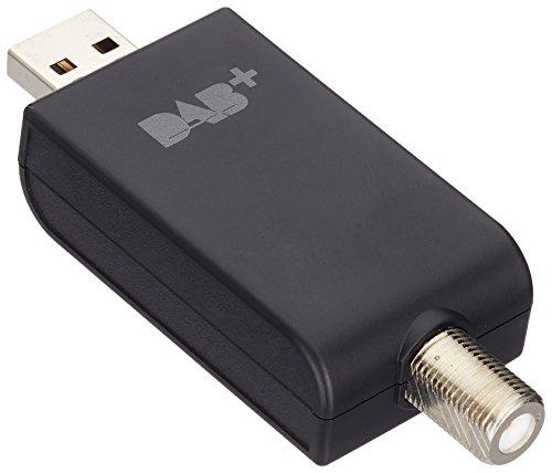 Pioneer USB DAB/DAB+ Adapter für kompatible Produkte von Pioneer, AS-DB100-B, Radio Entertainment in digitaler Qualität, On-Screen Text Anzeige, Zubehör, Schwarz, 1500487