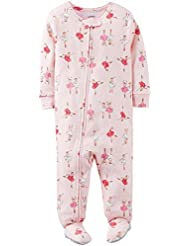 Carter's Baby Girls' Print Footie (Baby) - Pink - 24 Months Color: Pink Size: 24 Months (Baby/Babe/Infant - Little ones)