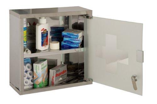 URBNLiving Wand montierbar Medizinschrank (klein) - Wand-hausapotheke