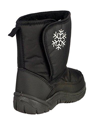 Mirak Slush imperméable Warmlined Boot Bottes de pluie Noir - noir