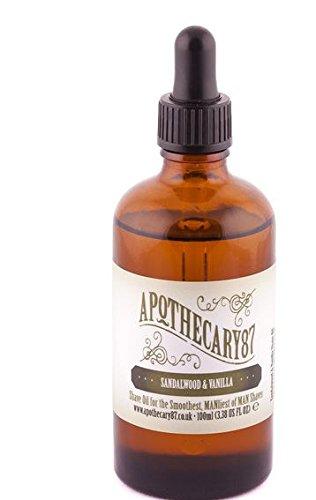 Shaving Creams, Foams & Gels Apothecary 87 1893 Shave Cream Mens Sandalwood And Vanilla Shaving Cream 100ml
