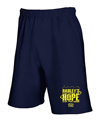 Cotton Island - Pantalone Tuta Corto TF0089 inspired by Hadleys Hope, Taglia XL