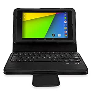 MiniSuit Keyboard Stand Case for Google Nexus 7 FHD 2nd Gen (2013)