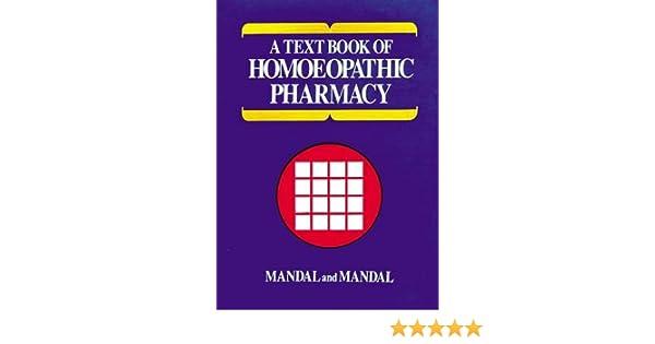 Homeopathic Pharmacy Book