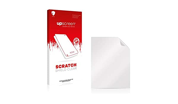 upscreen Scratch Shield Clear Screen Protector for Motorola MC1000 Multitouch Optimized Strong Scratch Protection High Transparency