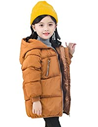 7e1b475736704 SIMPLE-H Manteau en Coton pour Enfants Automne et Hiver à Capuche Veste  Longue pour garçons et Filles Moyenne et…