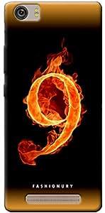 Fashionury Soft Back Case Cover For Gionee Marathon M5 lite- Print11098