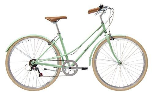 Kawaii bicicleta híbrida paseo 7 velocidades...