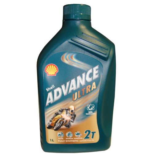 Shell Advance Ultra 2T, 1L - Motorrad Shell öl