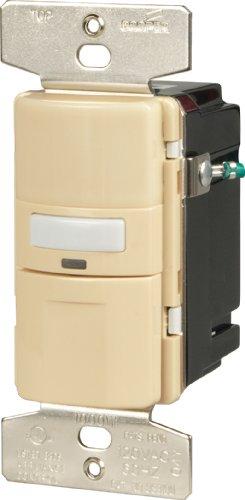 Cooper verkabelungsgeräten Katzenklingel Belegung Sensor Wandschalter NULL elfenbeinfarben (Led-belegungs-sensor-licht)