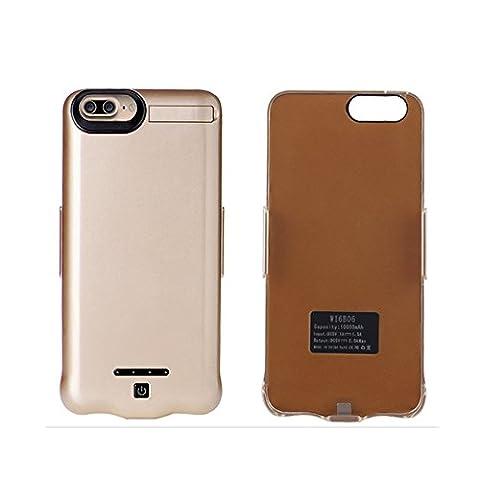 Batterie rechargeable pour iPhone 7Plus Étui Chargeur tingso 10000mAh Batterie