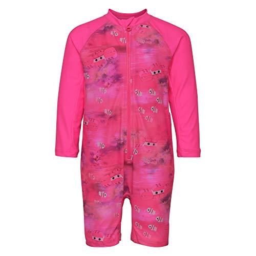 Lego Wear Baby-Mädchen Duplo Girl Alpha 304-UV 50+ Badebekledung Einteiler Langarm Badebekleidungsset, Rosa (Pink 464), (Herstellergröße: 80)
