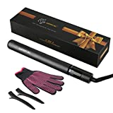 2 in 1 Automatic Hair curler and Mini Hair Straightener, Ceramic Curling Irons