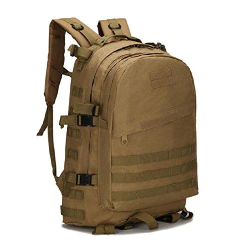 ZC&J Outdoors 36-55L Capacity Camouflage Männer Schulter Rucksack, Tactical Sport Trekking Bergsteigen Rucksack, wasserdicht Oxford Tuch verstellbare Bergsteigen Tasche B4