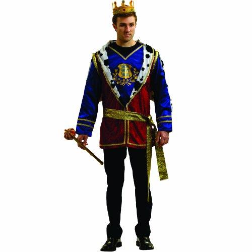 achsener edler König Costume Set (Edle König Erwachsenen Kostüme)