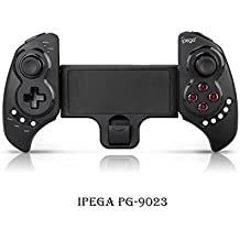 UltraGear iPega PG-9023 Bluetooth Gamepad Samsung Gear VR Controller Oculus VR Headset Wireless Telescopic Game Controller Joystick for 5-10 inch Android/iOS Tablet/TV BOX/Smartphone