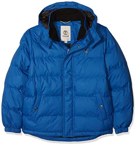 Timberland doudoune cappotto, blu (cobalt), 10 anni bambino