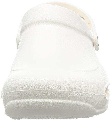crocs Specialist Vent, Unisex-Erwachsene Clogs, Schwarz (Black 001), 43/44 EU (M9/W10 Unisex-Erwachsene UK) Weiß (White)