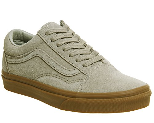Vans I OLD SKOOL VD3AY28 Unisex - Kinder Halbschuhe Light Khaki Gum Exclusive