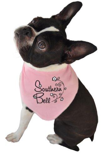 'Ruff Ruff and Meow Hund Bandana, Southern Belle, Rosa, Medium -