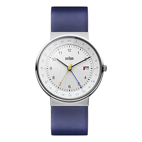Braun Men's GMT Watch BN0142WHBLG
