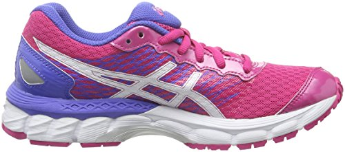 Asics Gel-Nimbus 18 Gs, Scarpe da Corsa Unisex – Bambini Multicolore (Sport Pink/White/Primrose Purple)
