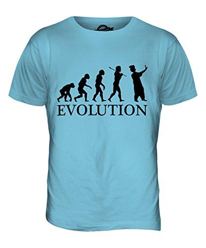 CandyMix Panjabi Tänzer Evolution Des Menschen Herren T Shirt Himmelblau
