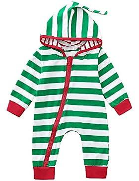 Riou Weihnachten Set Baby Kleidung Pullover Pyjama Outfits Set Familie Infant Baby Jungen Mädchen Jungen Weihnachten...