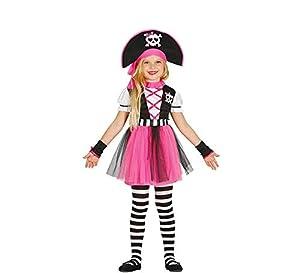 Guirca 85937 - Pirata Pink Infantil Talla 3-4 Años