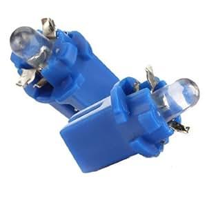AMPOULE LED COMPTEUR TABLEAU DE BORD B8-5D T5 Lampe avec support BLEU TUNING