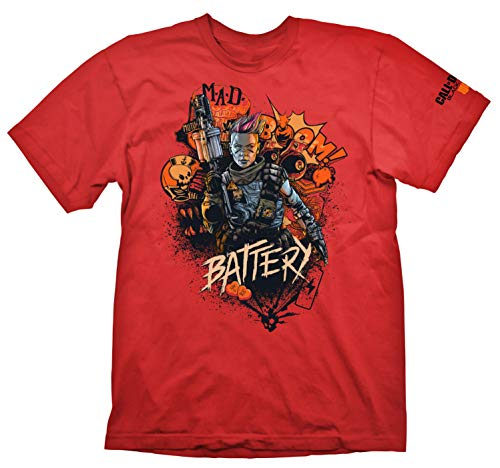 "Gaya Call of Duty: Black Ops 4 T-Shirt ""Battery Red"", XL - Not Machine Specific"