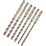 Dewalt Hammerbohrer-Set Extreme (6-teilig, 160 mm, SDS-plus, Ø 2x 6, 2x 8, 2x 10, in Kunststoffverpackung) DT60302