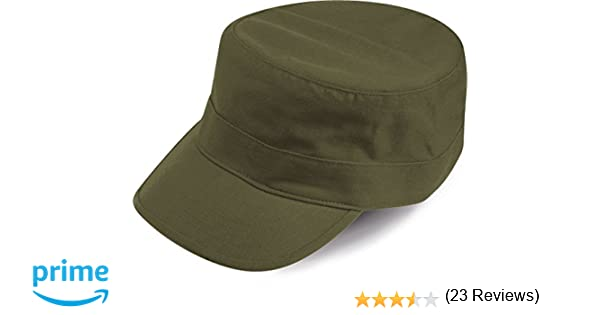 TANK VERDE OLIVE BERRETTO MILITARE VASCO CAP CHAPEAUX 100% COTONE UNISEX   Amazon.it  Sport e tempo libero 8171a79bfbca