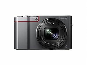 Panasonic Lumix DMC-TZ100EBK Compact Digital Camera (20.1 MP, 25-250 mm, 10x Optical Zoom, F2.8-5.9 Leica Lens) - Silver