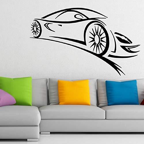 42 * 68cm Wall Decal Vinyl Sticker Formel 1 Racing Sport Car Home Decor Boy Room Window Art Mural Wallpaper Poster Dekoration