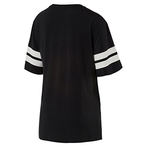 Puma ACTIVE SWAGGER Fashion Tee - puma black Schwarz