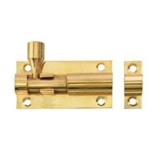 Forge 50mm Door Bolt with Brass Finish