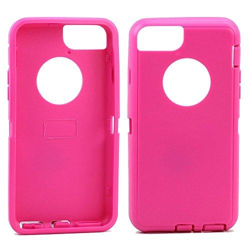 Ersatz TPE Silikon Haut für OtterBox Defender Series Schutzhülle für Apple iPhone 6/iPhone 6S 11,9cm, Hot Pink Outer Skin - 6 Ersatz-bildschirm-pink Iphone